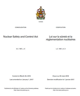 Nuclear Safety and Control Act