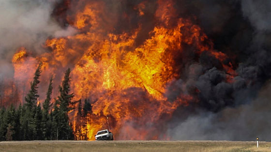 Fires at Fort McMurray